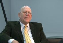 Hubertus Schoeller im Gespräch mit Dr.Renate Goldmann